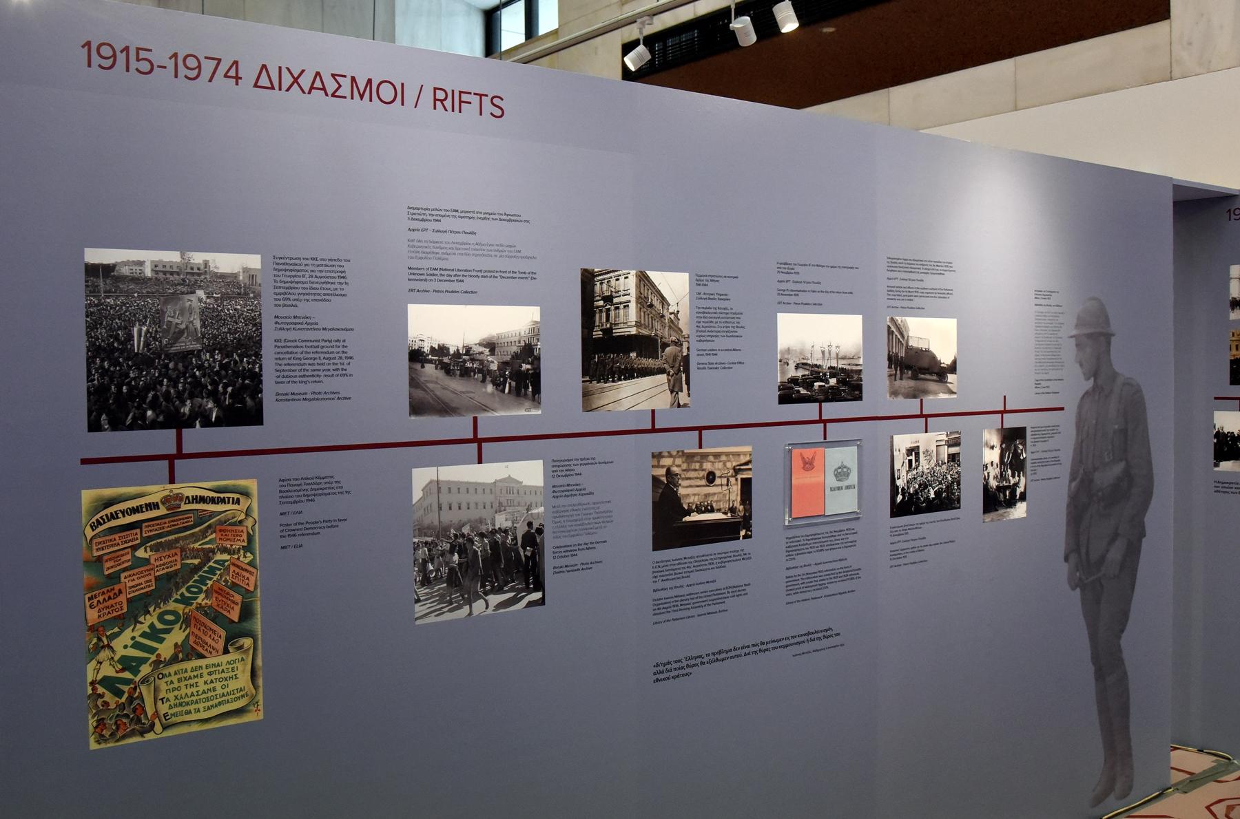 Βουλή των Ελλήνων. Οι  σταθμοί μιας διαδρομής σχεδόν διακοσίων ετών
